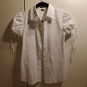 Theory white blouses